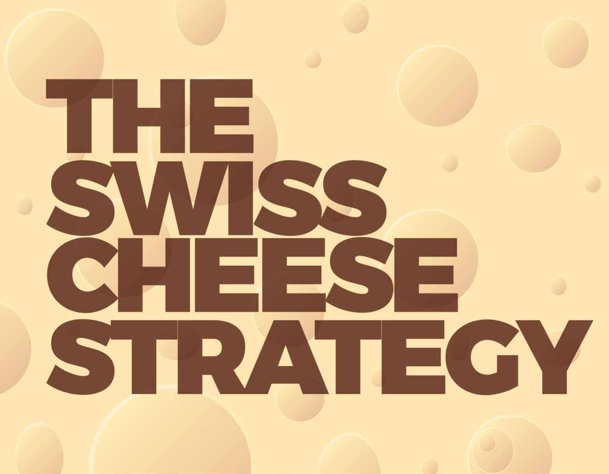 Page 18 of The Swiss Cheese Strategy By copying the aviation industry, you can make sure your marketing strategy will fly