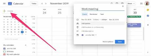 Page 24 of Creating a Meeting Using Google Hangouts