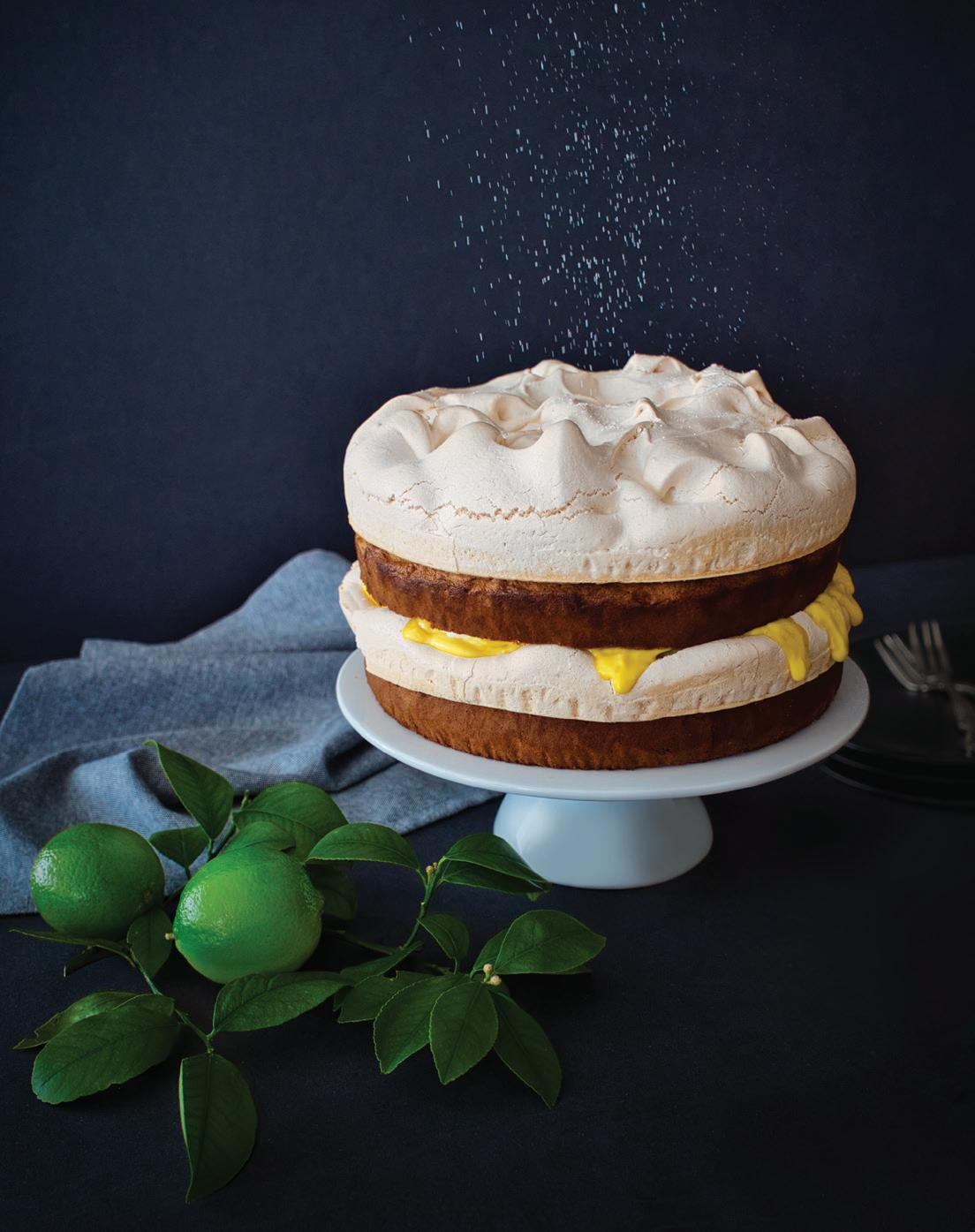Page 80 of Something to celebrate: Lime and coconut cloud cake