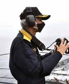 Page 30 of Navy Chief reviews operational readiness at sea