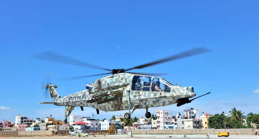 Page 38 of IAF Chief Reviews LCH Programme, Takes a Sortie