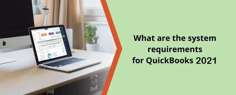 Page 1 of System Requirements for QuickBooks Desktop 2021