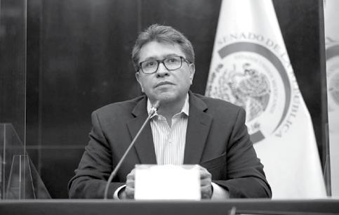 Page 14 of Senado de la República analizara con empresarios Regulación del Outsourcing: Ricardo Monreal