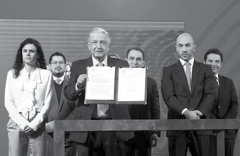 Page 6 of Presenta Presidente Andrés Manuel López Obrador Iniciativa de Ley Contra la Subcontratación