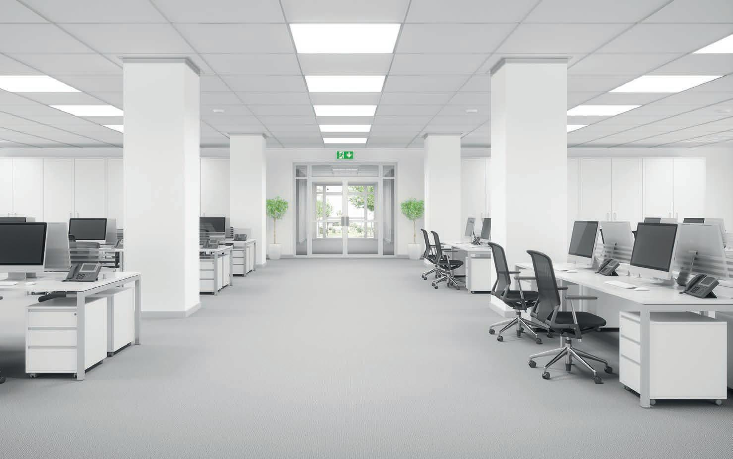 Page 42 of Mike Collins, Sales Director at OVIA, looks at the self-test area of the emergency lighting sector and how it can save building owners time and money