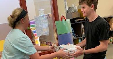 Page 18 of Gilmer FFA Members Volunteer to Assist Elementary Teachers with Classroom Setup