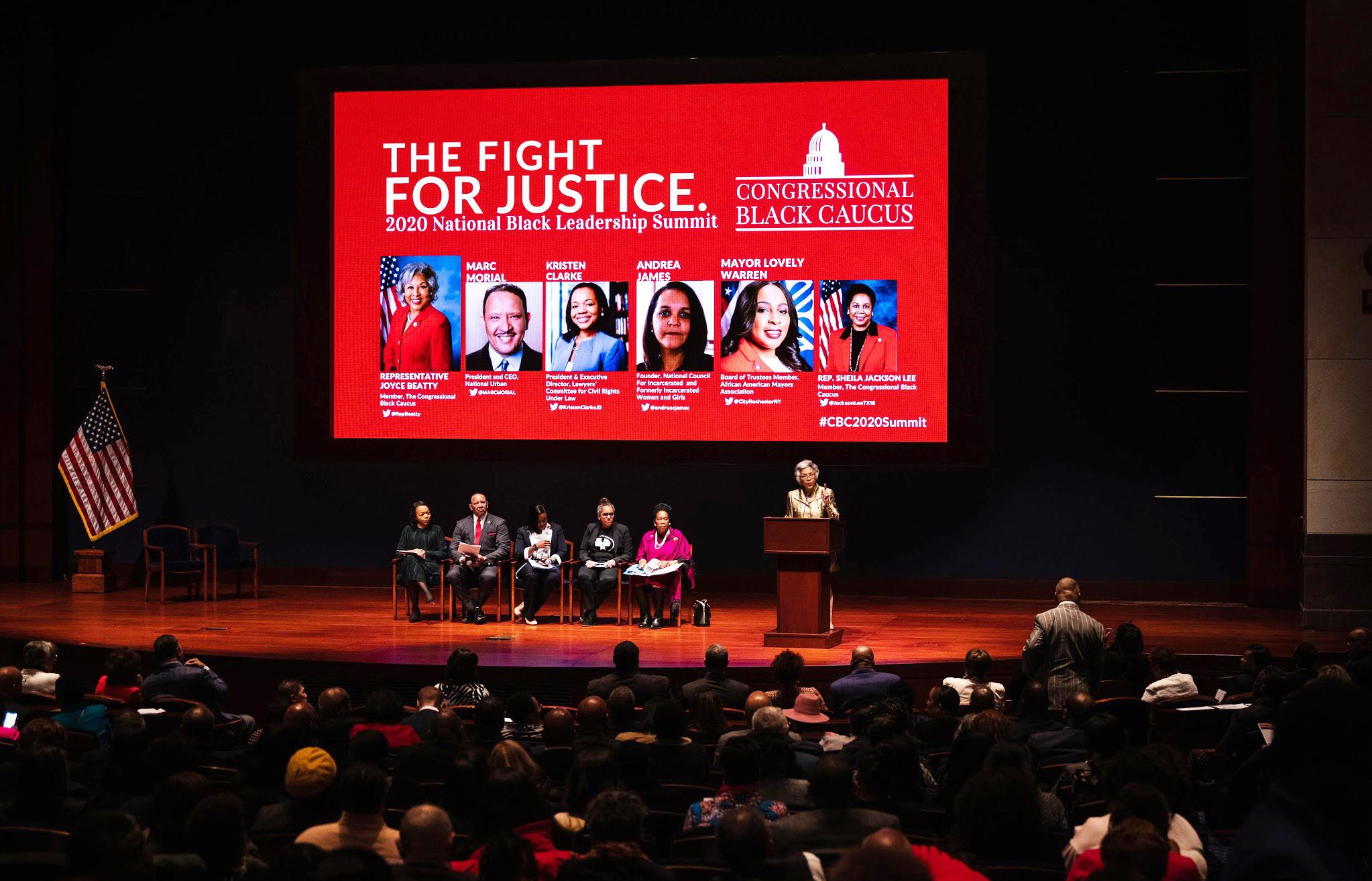 Page 16 of V. NATIONAL BLACK LEADERSHIP SUMMIT: AN EMERGENCY CONVENING