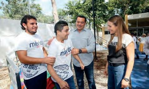 Page 4 of El Ayuntamiento de Mérida avanza en las estrategias para la integración de personas con DISCAPACIDAD