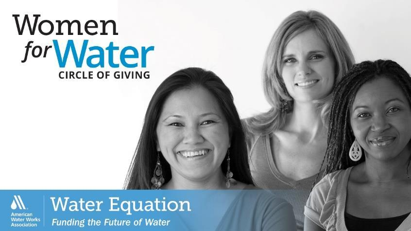 Page 19 of AWWA Women for Water Circle of Giving