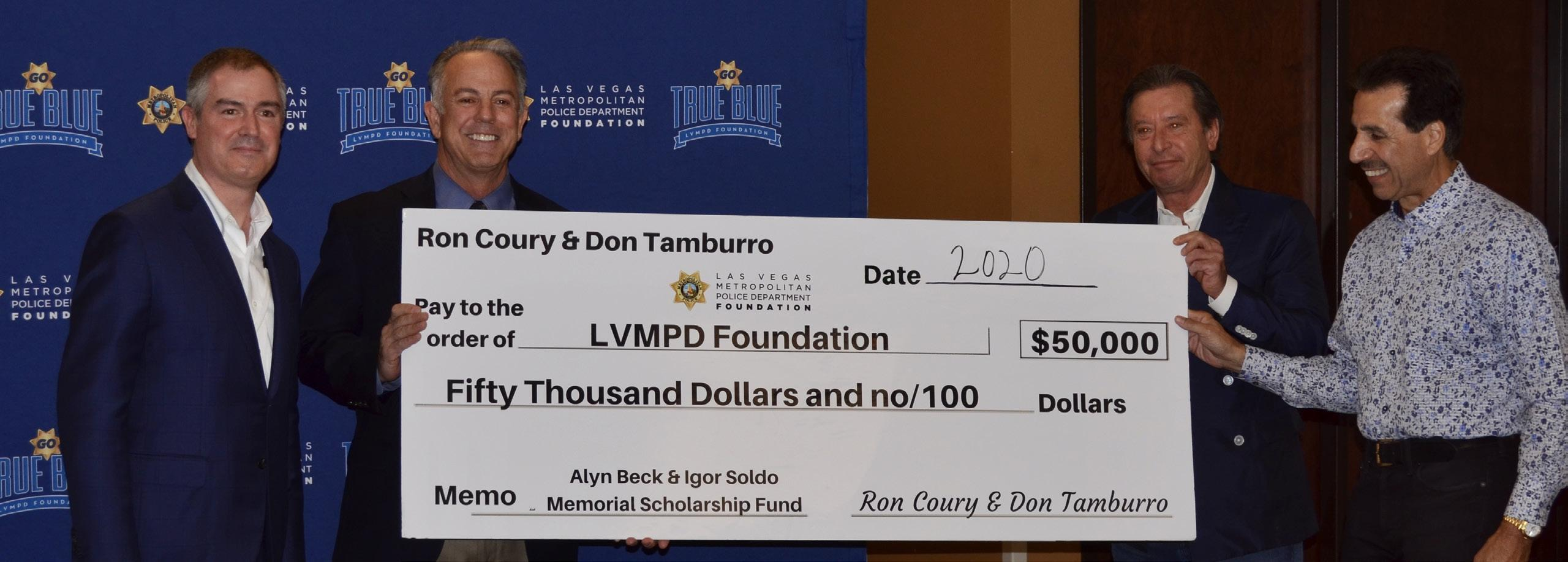 Page 4 of LVMPD Foundation Presents $60,000 Scholarship Fund to 12 Local Students
