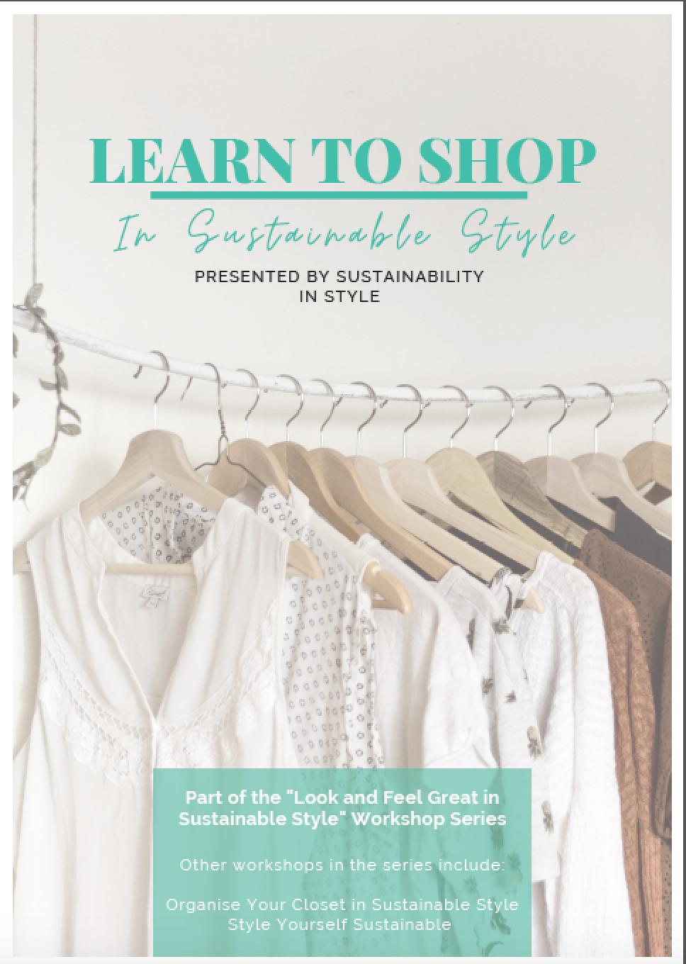 Page 16 of Learn to Shop in Sustainable Style