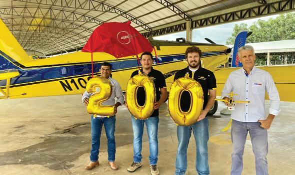 Page 12 of Com História de Pioneirismo, Lane/ AeroGlobo Chega a 200 Aeronaves Novas Comercializadas