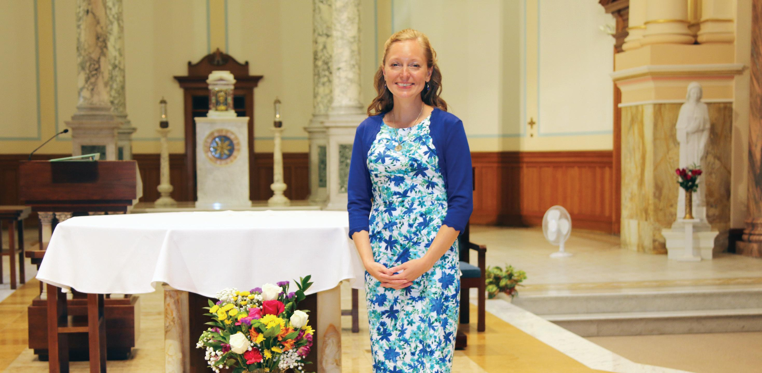 Page 12 of Signs of Hope S. Tracy Kemme professes final vows