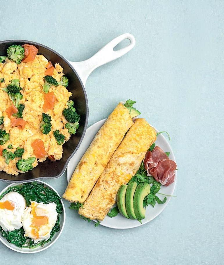 Page 8 of Italiaanse omelet wrap met Parmaham, avocado