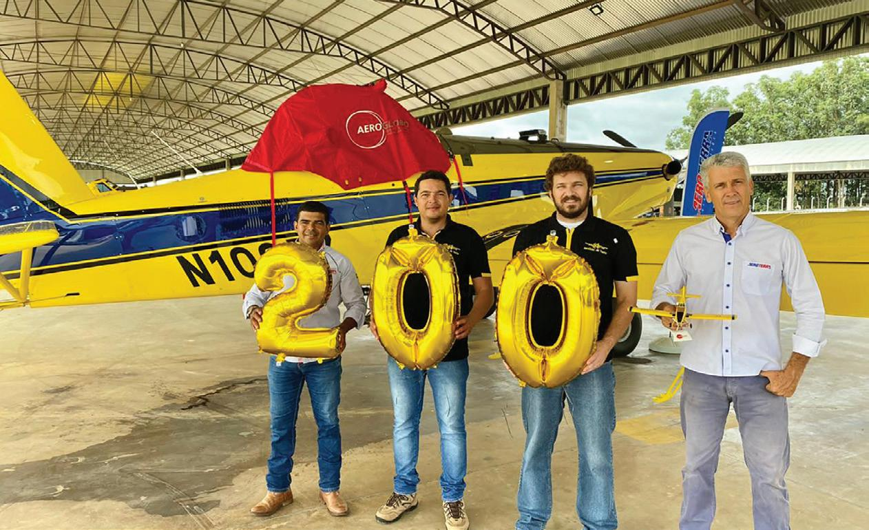 Page 68 of Lane Aviation / AeroGlobo Reach 200 New Aircraft Sold and Delivered to South America