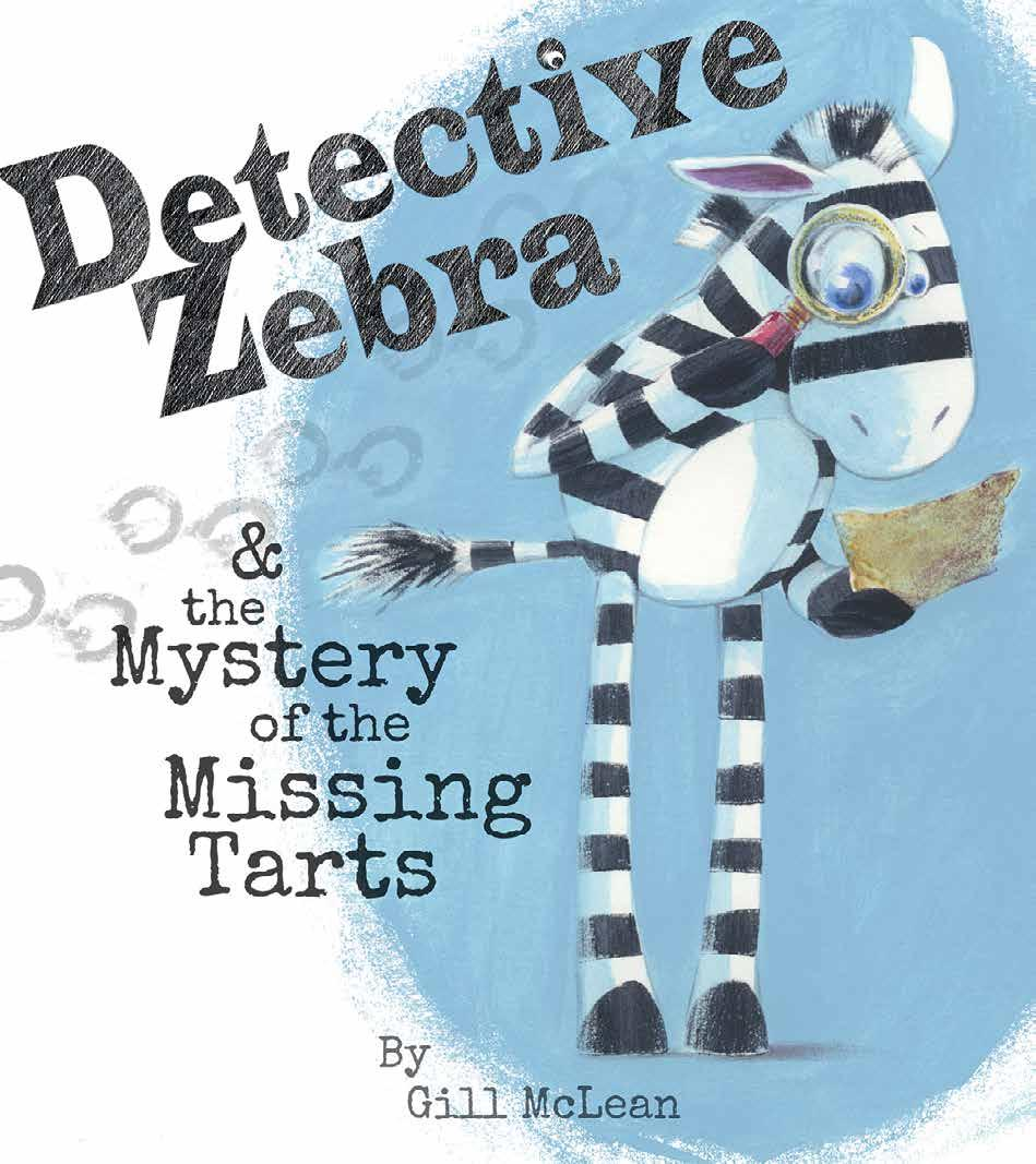 Page 26 of Detective Zebra & the Mystery of the Missing Tarts NEW