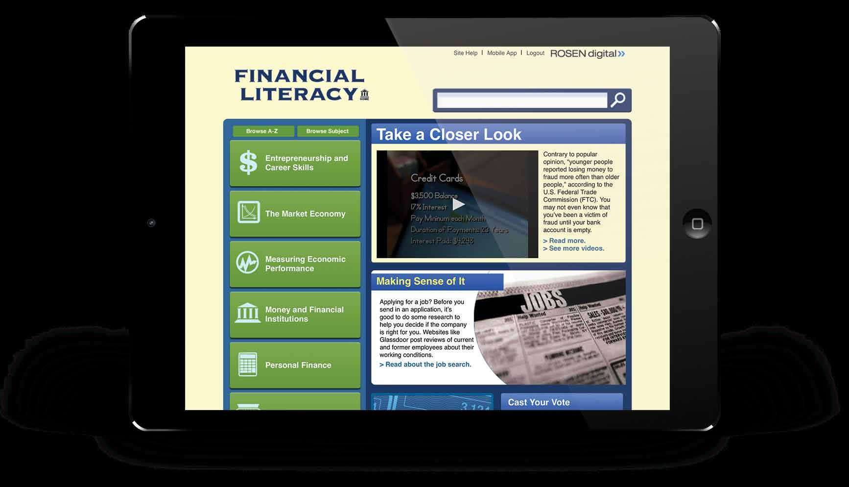 Page 6 of Financial Literacy