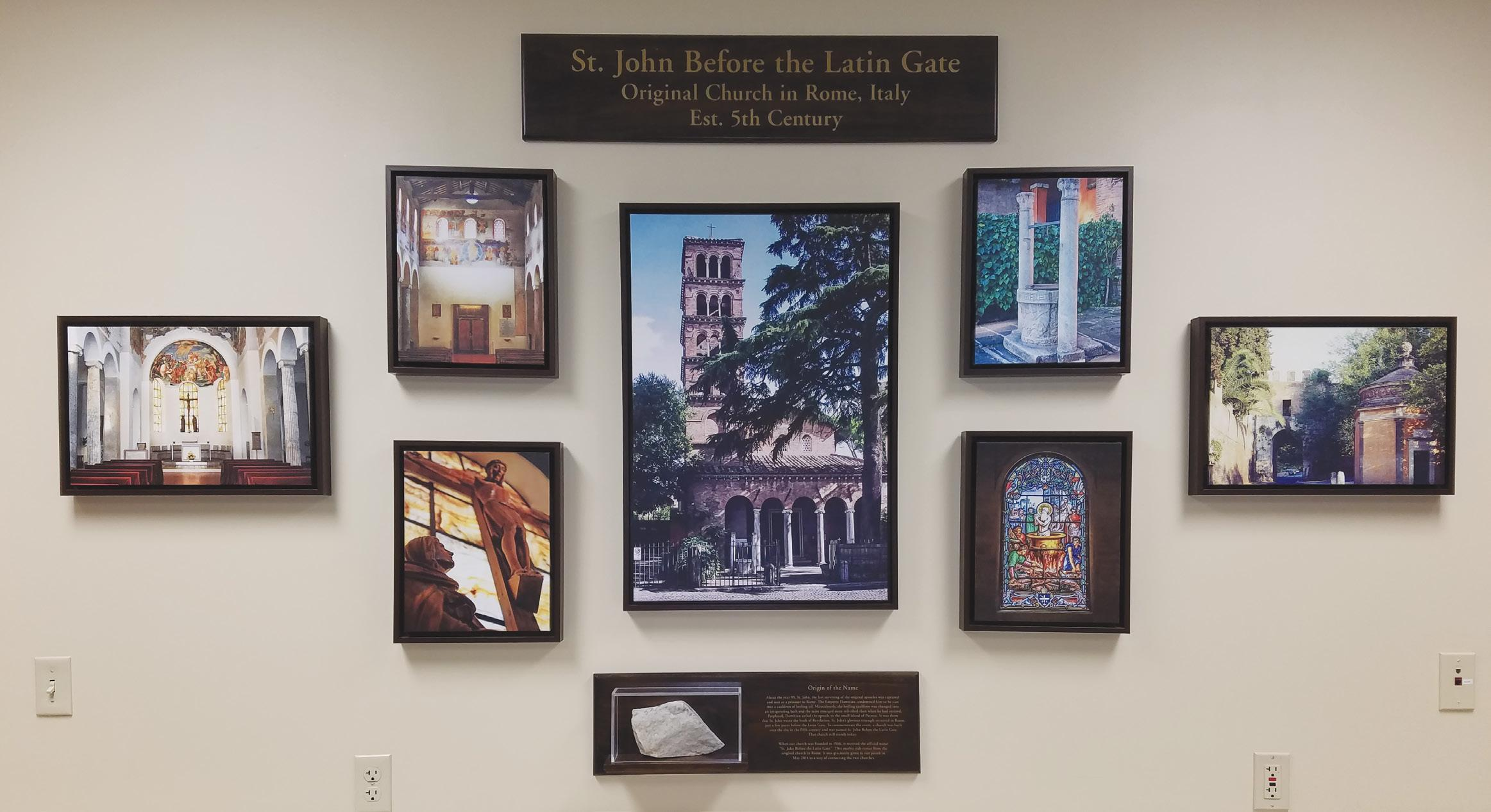 """Page 6 of The Origins of Our Parish Name: The History Behind """"St. John Before the Latin Gate"""