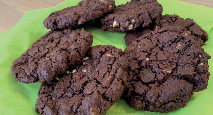 Page 18 of The Composing Cook Recipe – Giant triple choc chip cookies