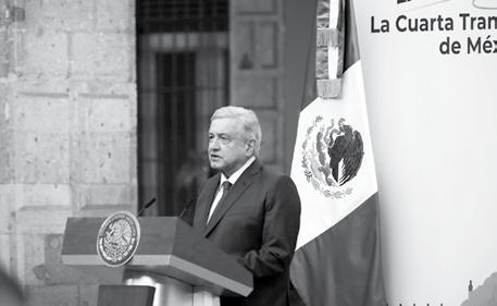 Page 6 of Destaco que a dos años de iniciada su gestión están sentadas las bases de la Cuarta Transformación: Andrés Manuel López Obrador