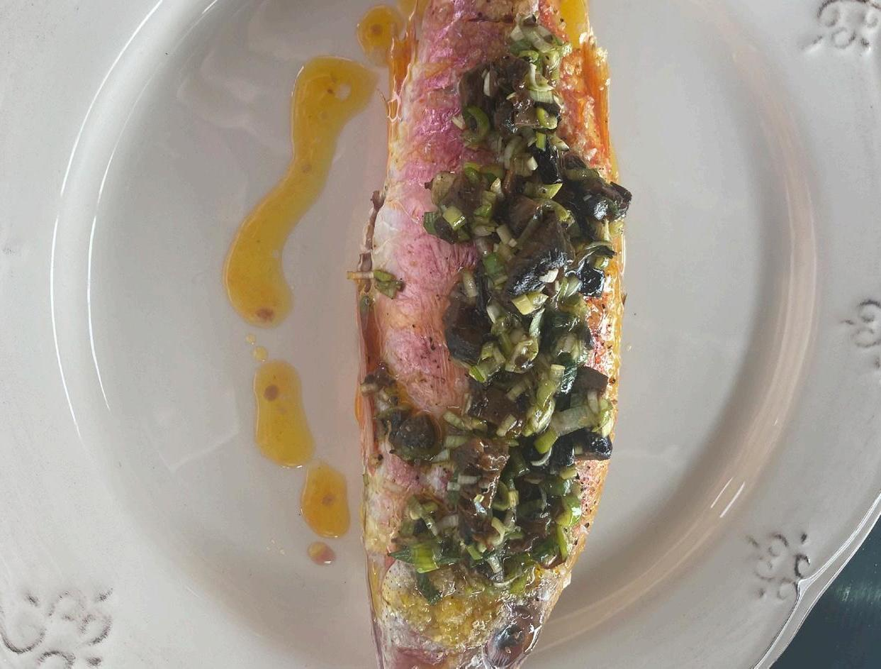 Page 36 of Red Mullet with Pickled Walnuts By Mark Hix