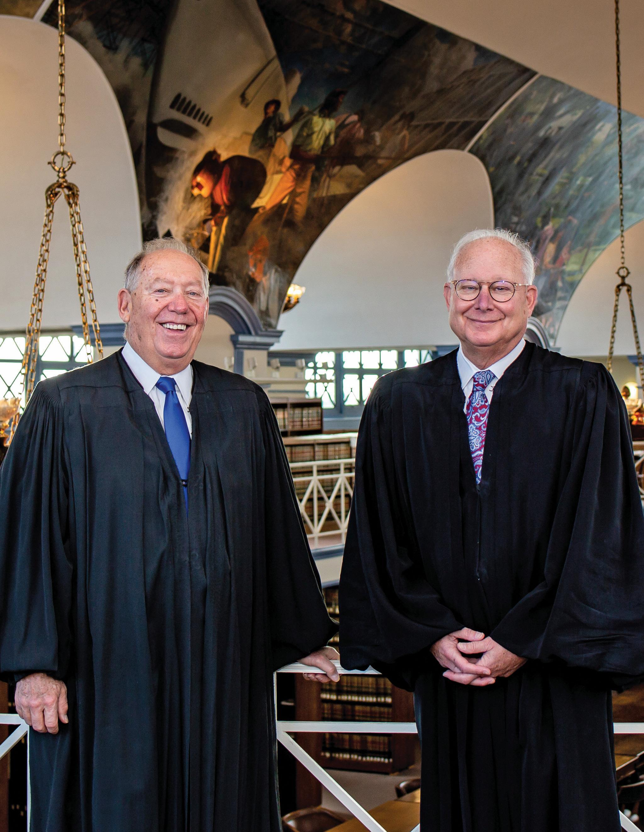 Page 1 of Judge John P. Capuzzi Sr. and Judge Barry C. Dozor