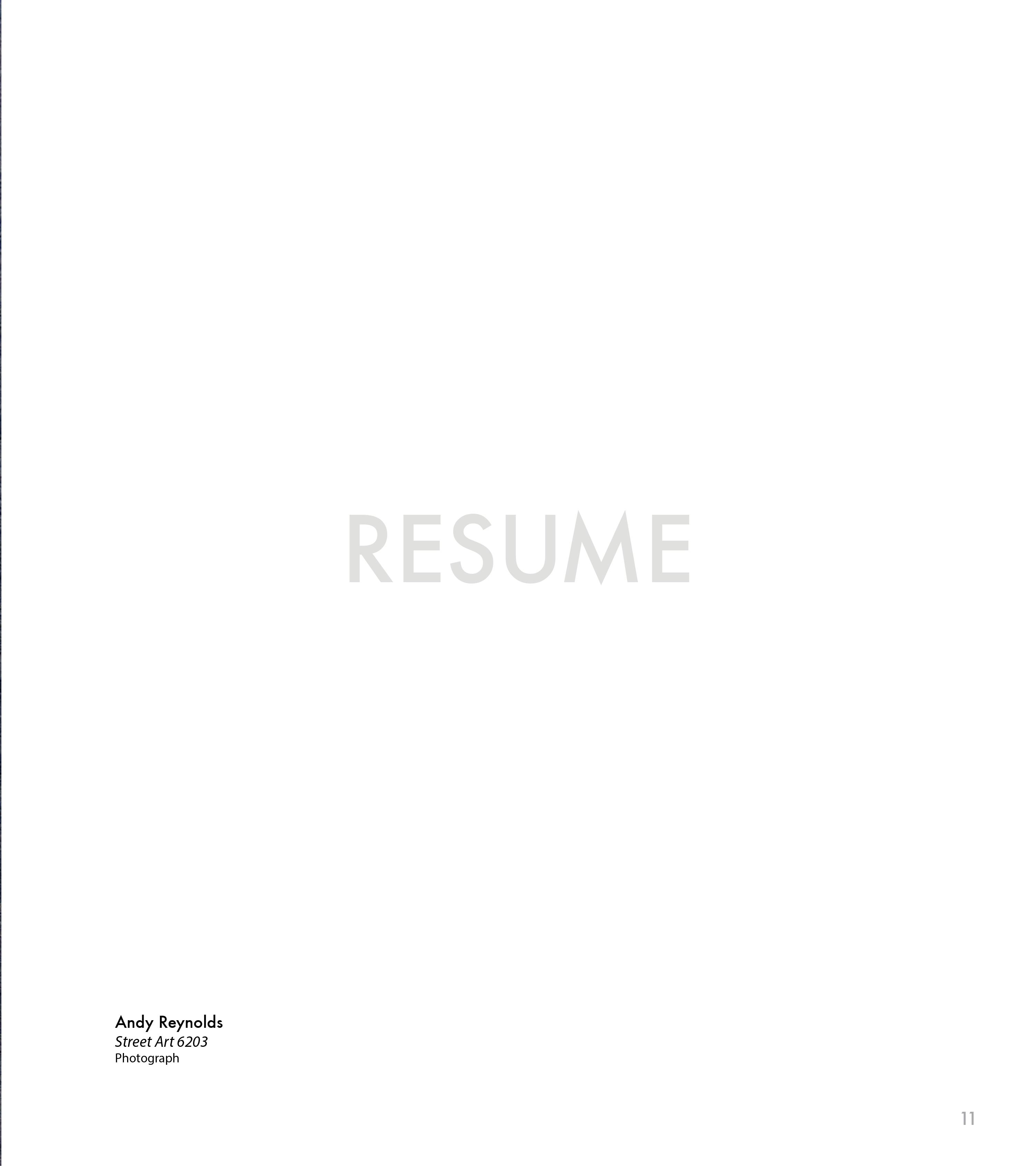 Page 14 of Publicity Resume