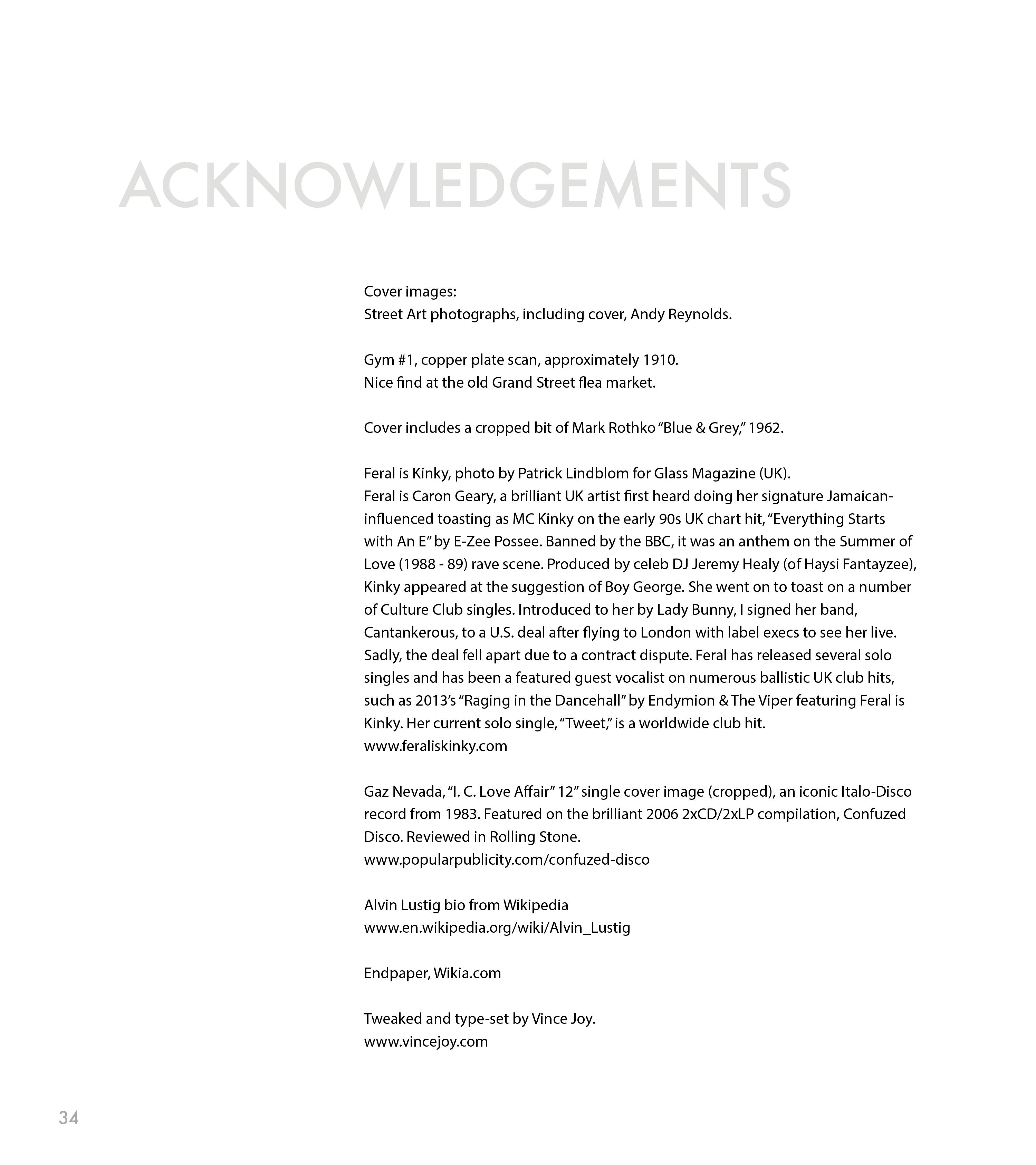 Page 50 of Acknowledgements