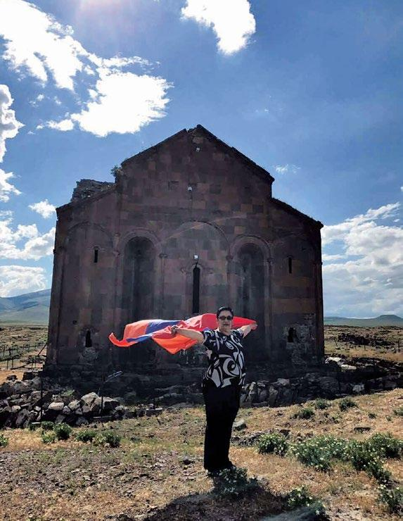 Page 30 of ARMENIA REPRESENTED IN IOV/UNESCO ON AN INTERNATIONAL PLATFORM: AN INTERVIEW WITH ANAHIT KHECHUMYAN An Interview with Anahit Khechumyan, whose journey with this international organization started almost twenty years ago