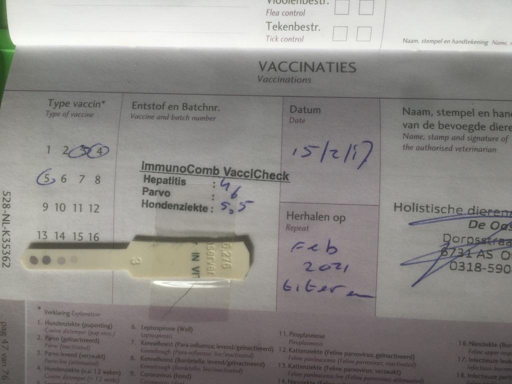 Page 17 of Titeren of standaard vaccineren?