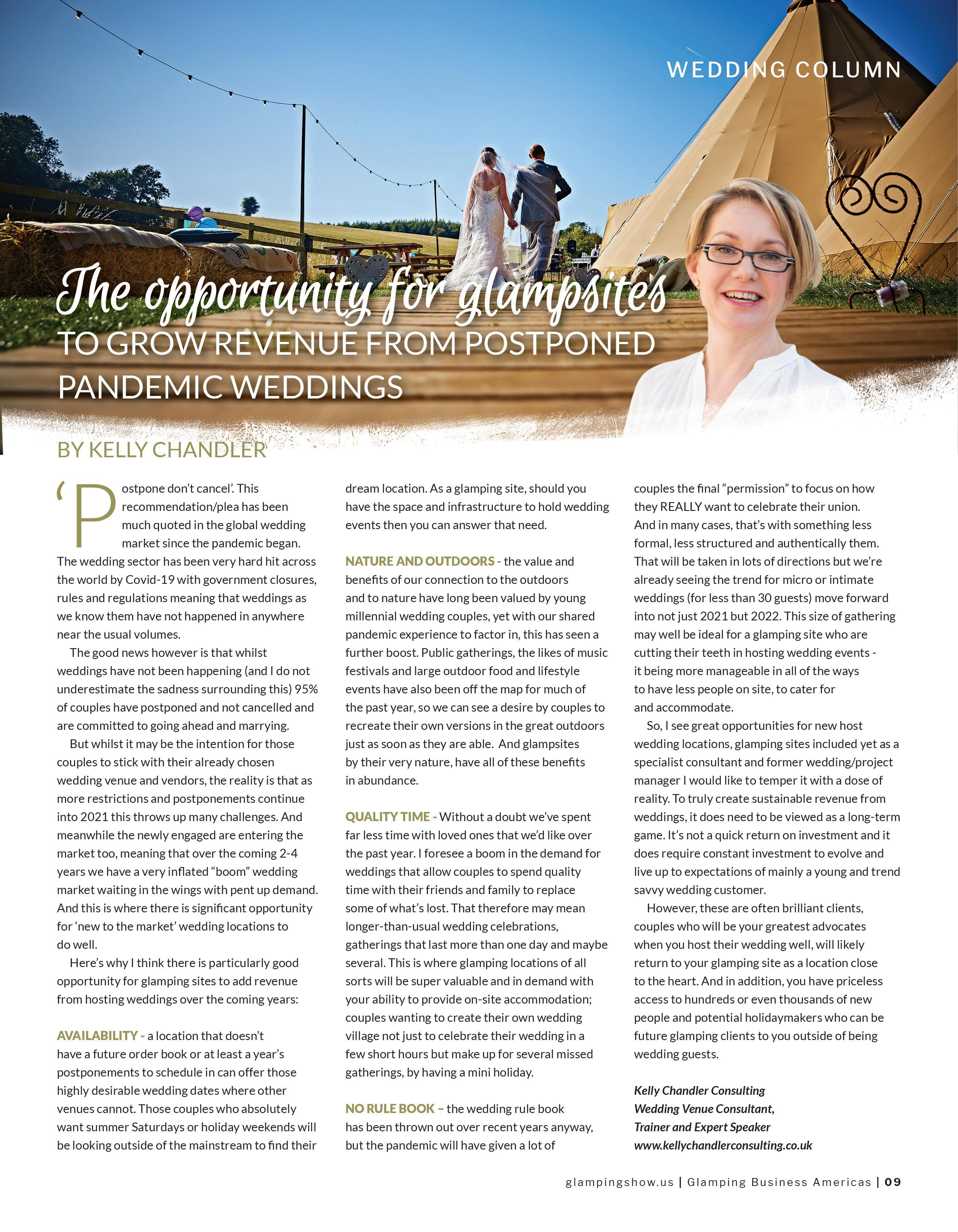 Page 8 of Glamping weddings will be huge by Kelly Chandler
