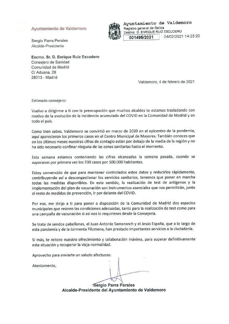 Page 15 of El Ayuntamiento ofrece espacios para vacunación