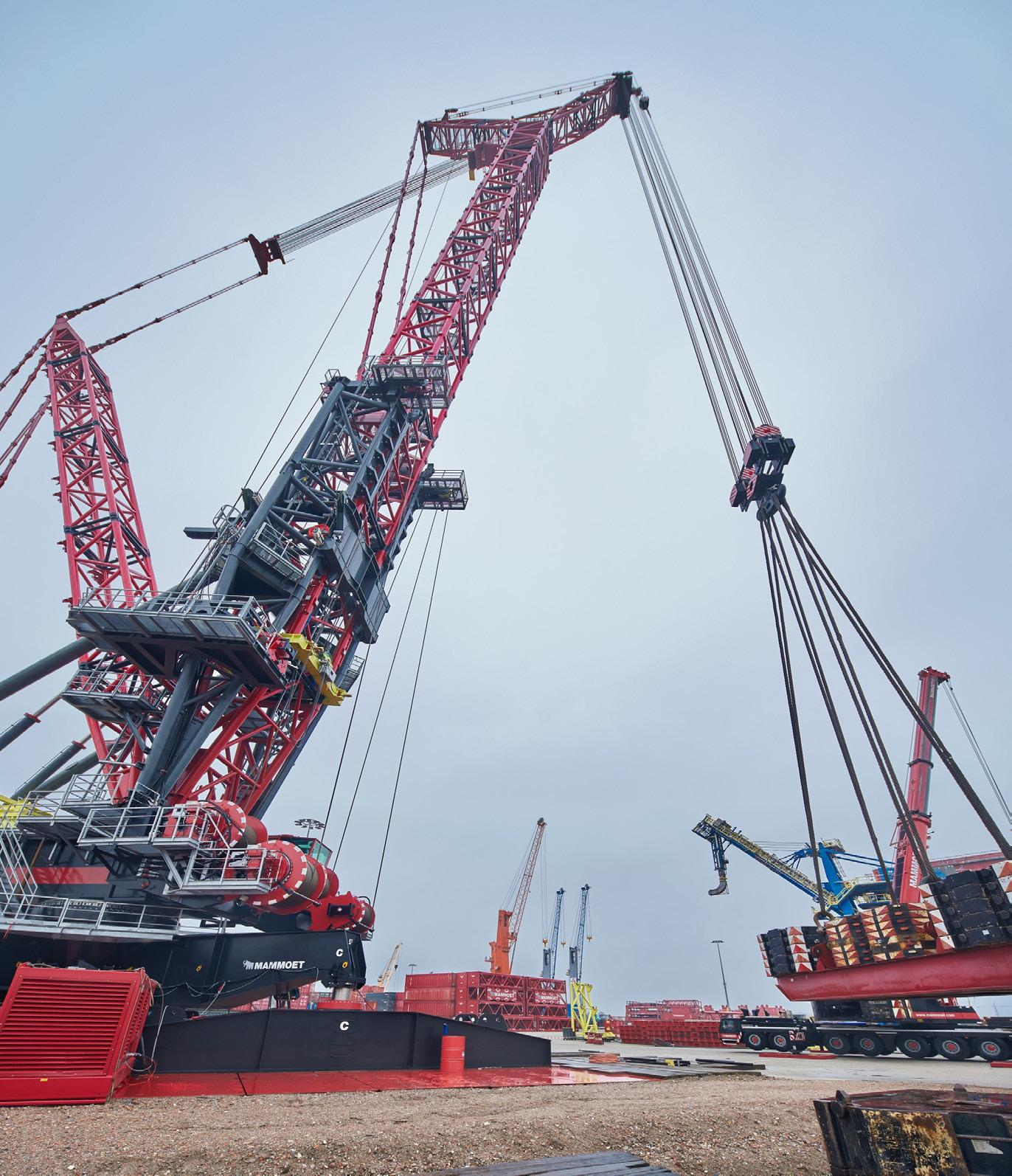 Page 21 of FOCUS30 crane completes a testing phase