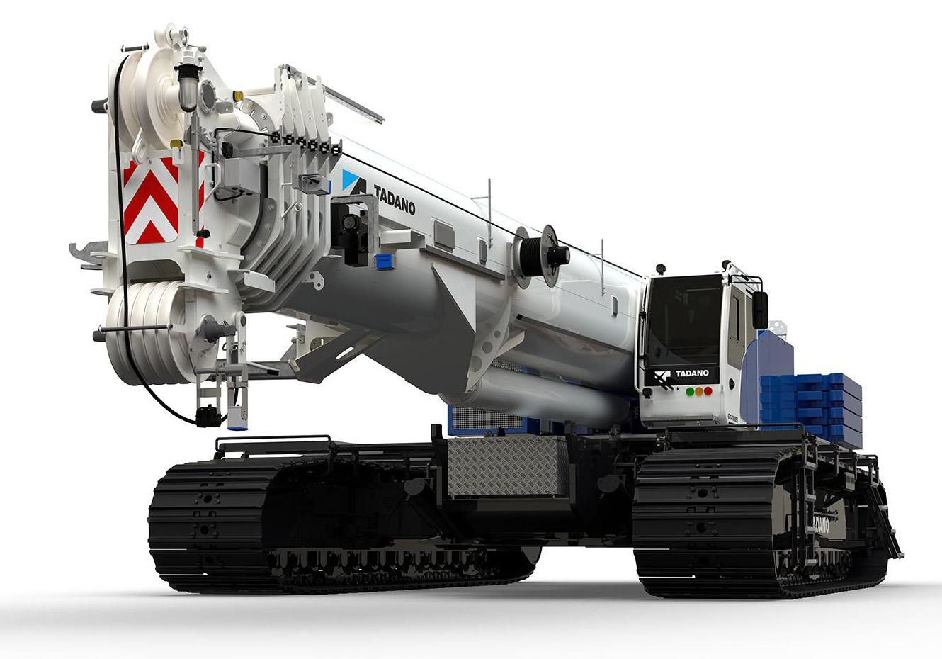Page 10 of The new Tadano GTC-1800EX telescopic boom crawler crane