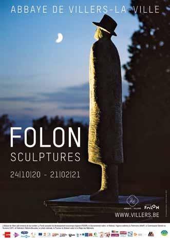 Page 60 of EXTRA MUROS FOLON SCULPTURES AT THE ABBEY OF VILLERS-LA-VILLE TO CELEBRATE THE 20TH ANNIVERSARY OF THE FOLON FOUNDATION