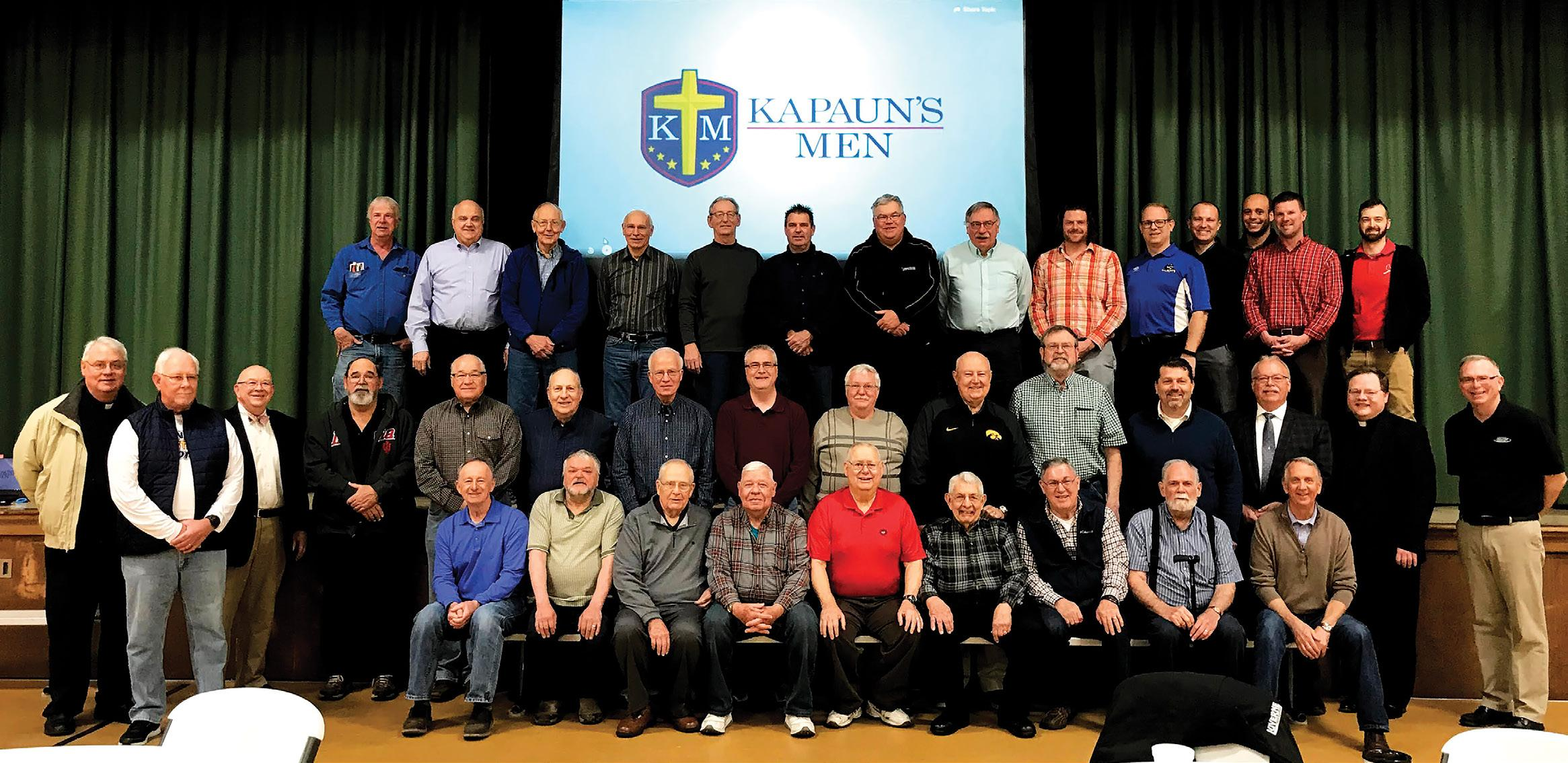 Page 6 of Meet the Men's Group: Growing in Faith and Relationship with Christ
