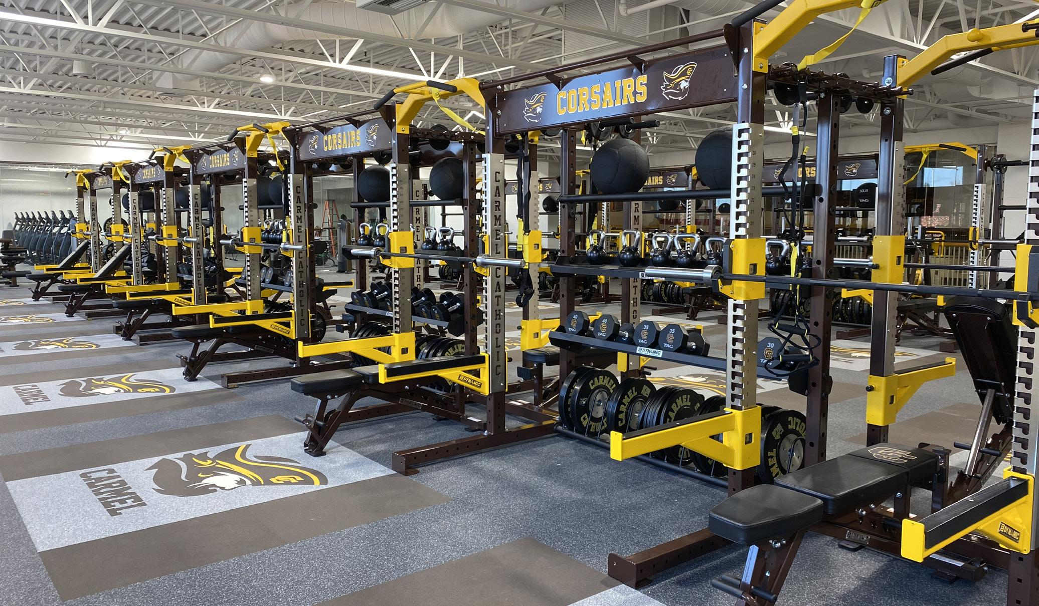 Page 6 of Corsairs to Benefit from Collegiate-Level Fitness Center