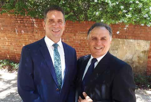 Page 28 of WA Minister for Small Business Paul Papalia thanks MGA WA Director Ross Anile