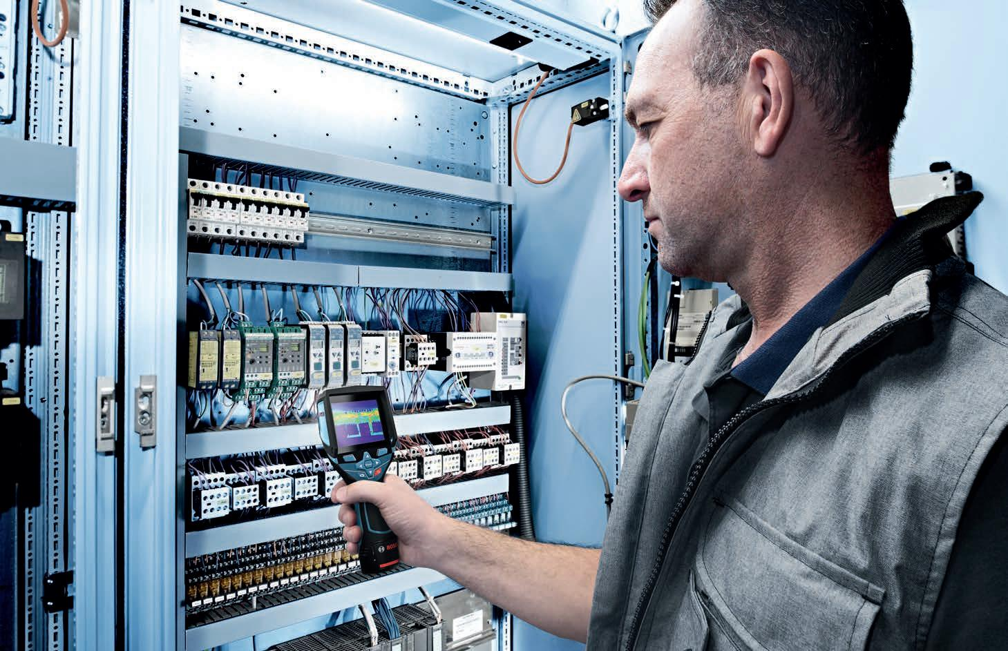 Page 36 of Bosch's GTC 400 C Professional Thermal Camera offers a variety of great functions