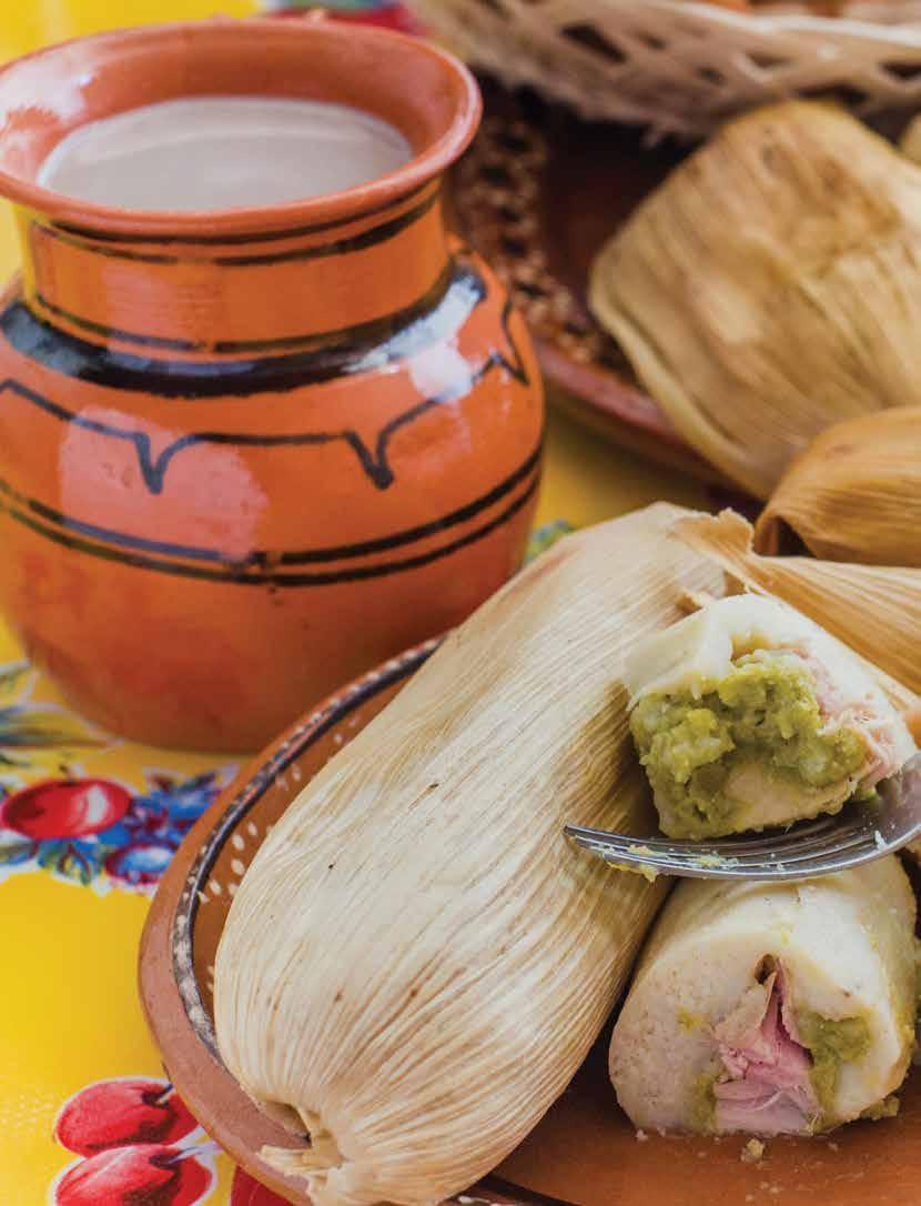 Page 50 of Antojitos Los tamales son uno de los platillos que diario se consumen en México