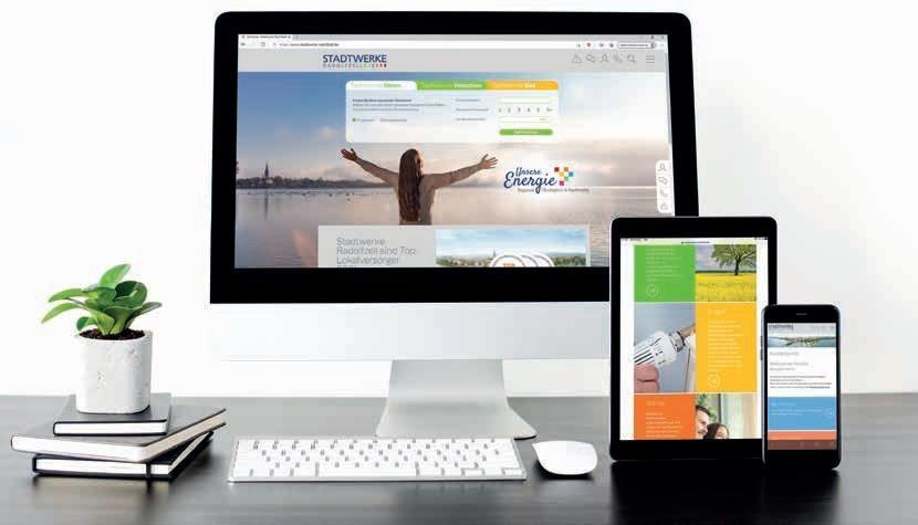 Page 34 of Stadtwerke: Neue Webseite der Stadtwerke Radolfzell stellt Kundenbedürfnisse stärker in den Fokus