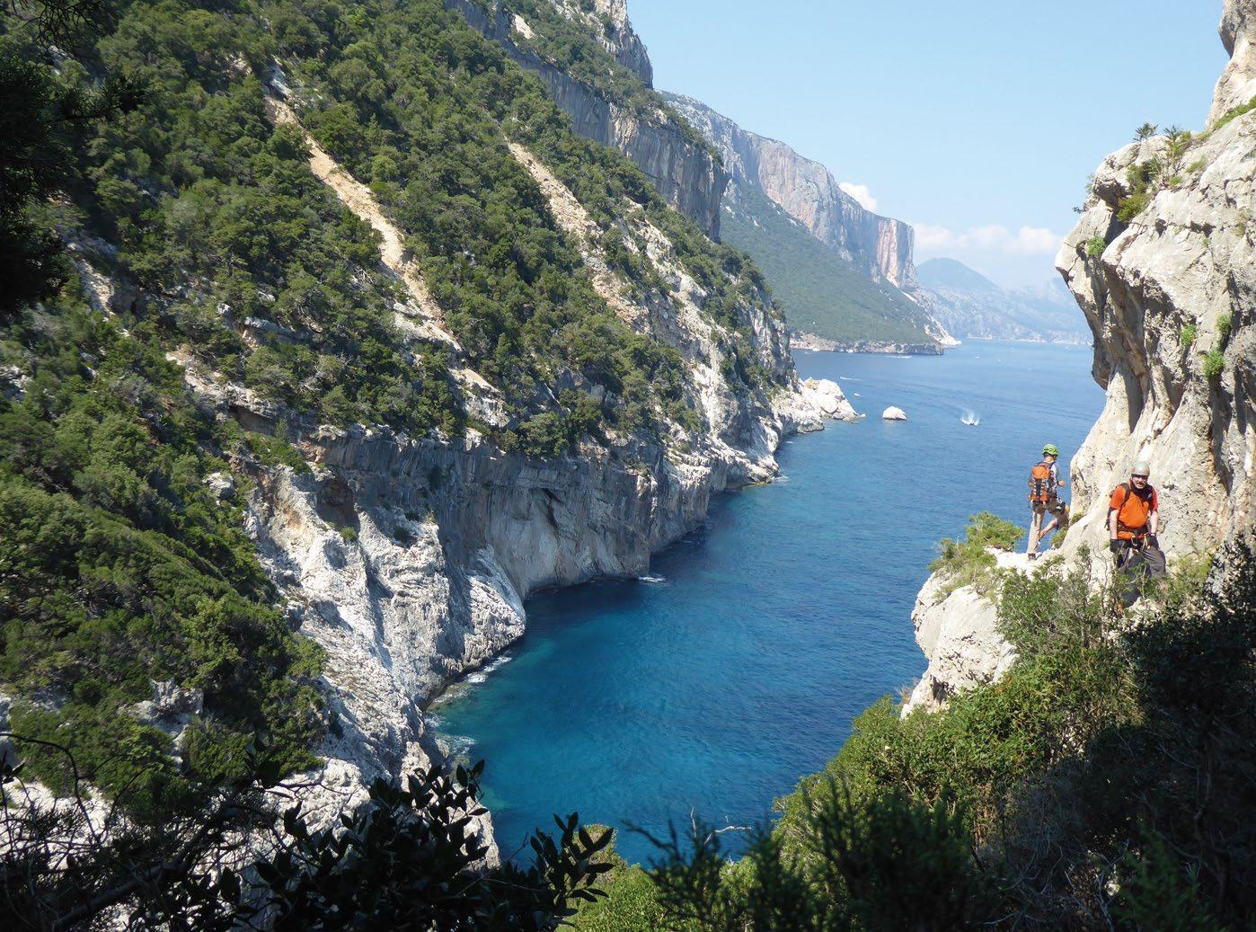 Page 20 of alpinistengruppe Selvaggio Blu auf Sardinien