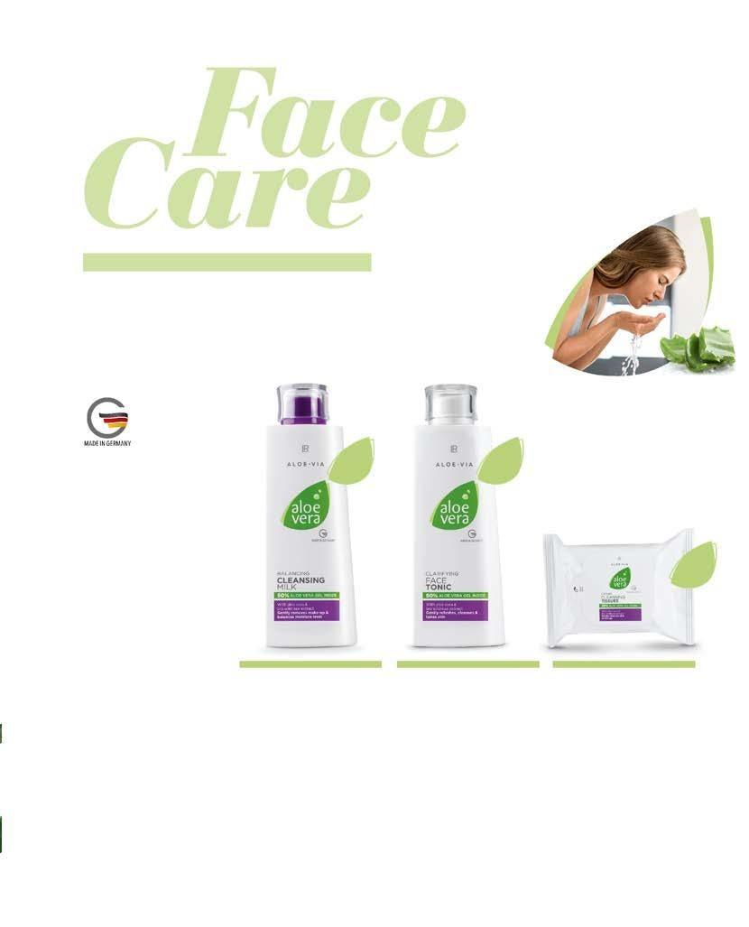 Page 82 of LR ALOE VIA Почистване и грижа за лицето