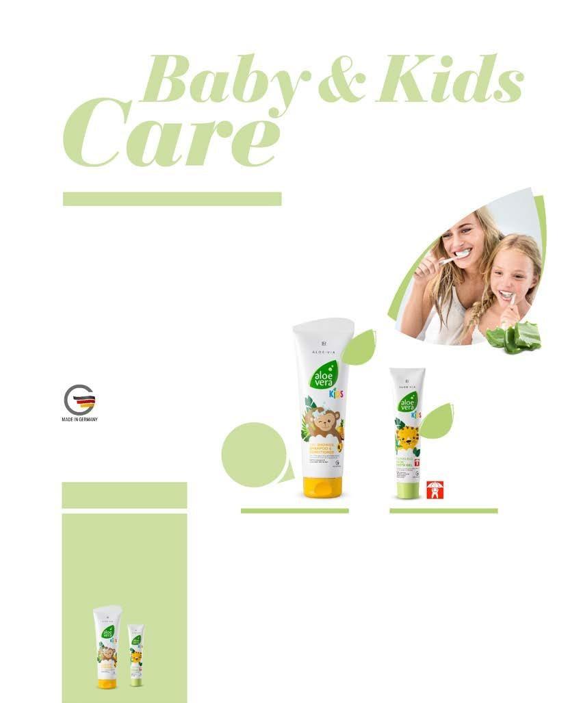 Page 102 of LR ALOE VIA Грижа за бебета и деца