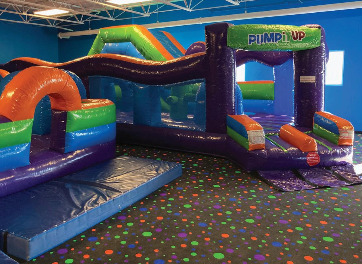 Page 30 of Ready for a Party? Pump It Up Expands Arenas Offers a Private Experience