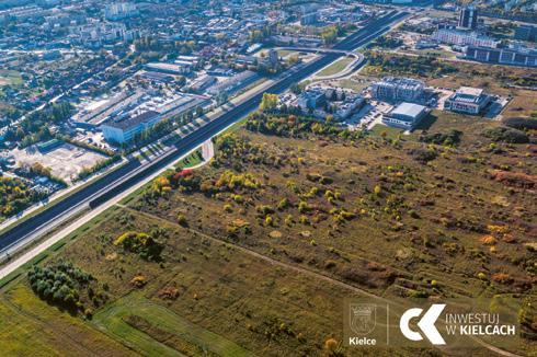 Page 70 of Miasto Kielce tworzy grunt... pod biznes