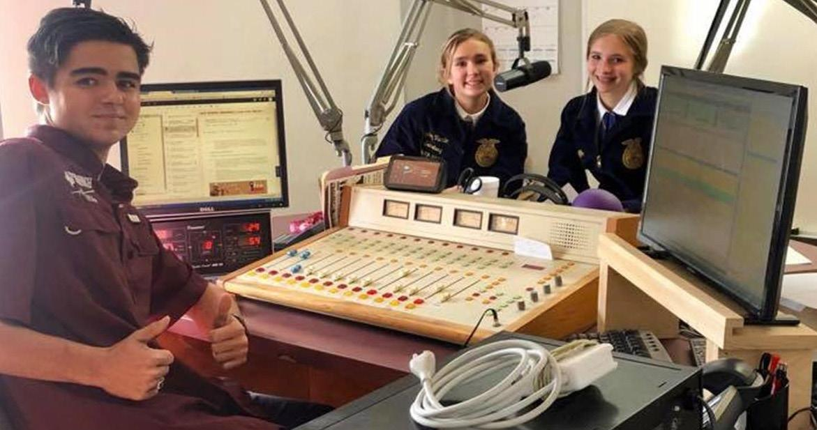 Page 22 of Cameron Yoe FFA Member Finds Purpose in Radio Broadcasting and Podcasting