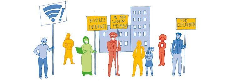 Page 16 of LeNa-Projekte im digitalen Zeitalter – O-Töne aus den Interviews zur Stadtteil- und Nachbarschaftsarbeit in Corona-Zeiten