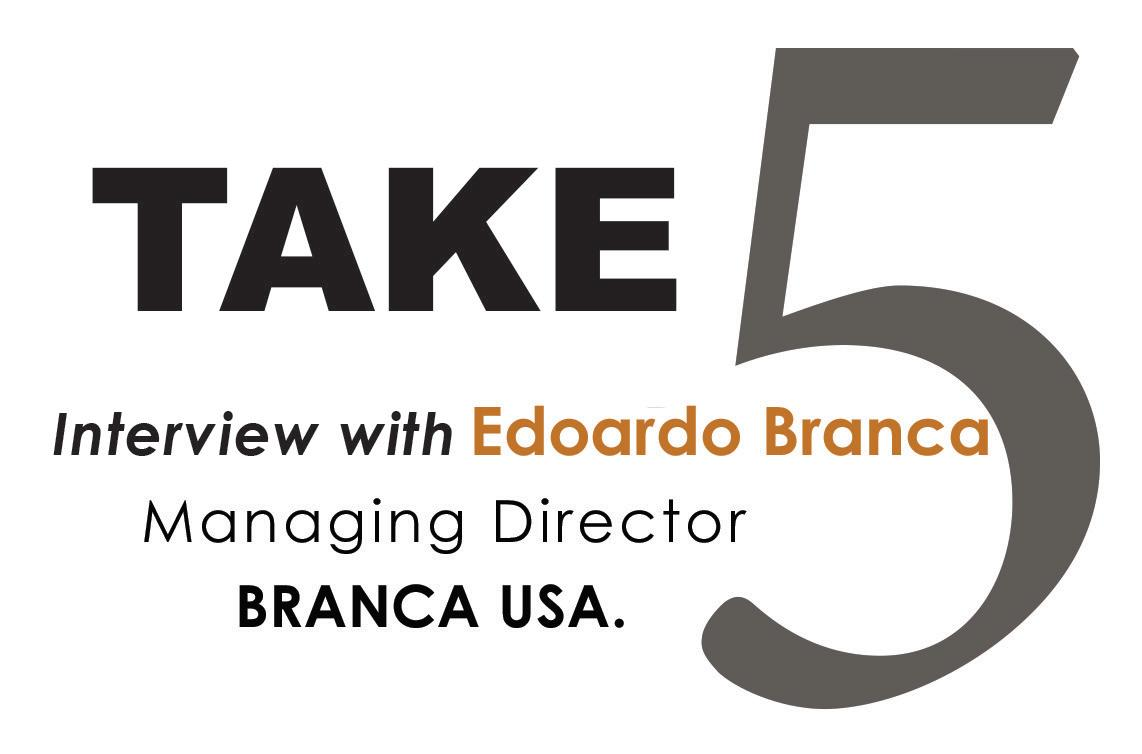 Page 52 of 175 Years of Tradition and Excellence — Take 5 Interview with Edoardo