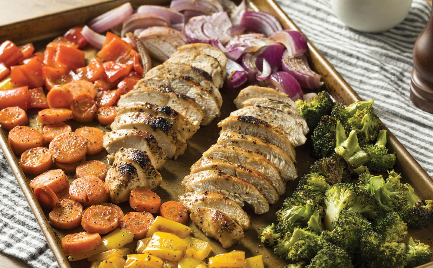 Page 36 of RECIPES Fast + Simple Weeknight Dinners - Sheet-Pan Recipes